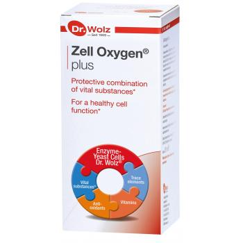 Zell Oxygen Plus Dr Wolz 250ml Expiry Date 30/6/22