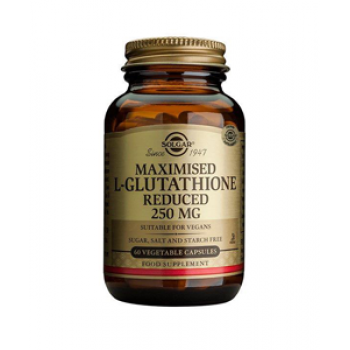 Solgar Maximised L-Glutathione Reduced 250mg Vege Capsules 60