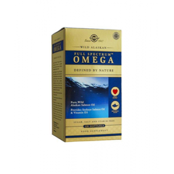 Solgar Wild Alaska Full Spectrum Omega SoftGels 120