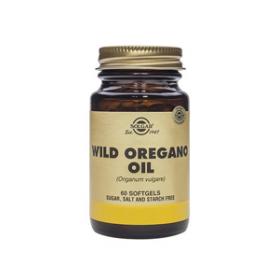 Solgar Wild Oregano Oil Softgels 60