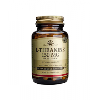 Solgar L-Theanine 150mg Capsules 60