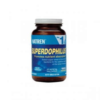 Natren Superdophilus - Dairy STEP ONE (70.6g) powder. New stock approx 23/7/20. Alternative dairy free powder, capsules or Trenev Trio.