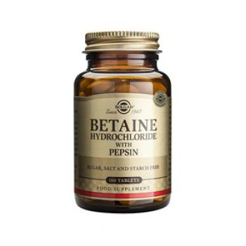 Betaine Hydrochloride with Pepsin Tablets 100