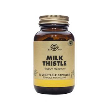 Solgar Milk Thistle 50 Vegetable Capsules