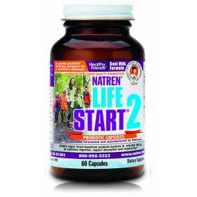 Natren Life Start 2 - Goat Milk (60 capsules) Expiry date 15/11/20.