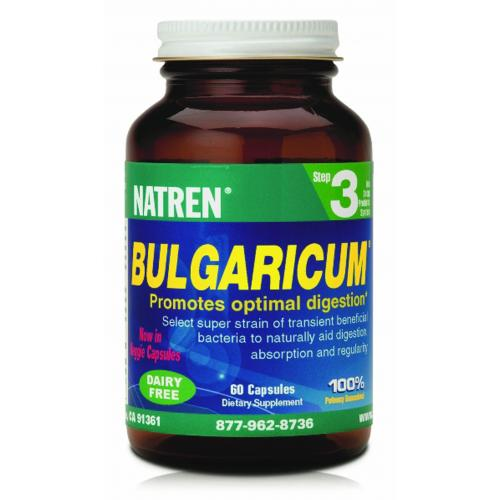 Bulgaricum - Dairy-Free STEP THREE (60 capsules) NB EXPIRY DATE IS 30/06/19. New stock arriving mid June
