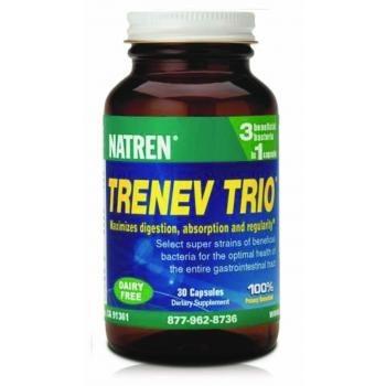 Natren Trenev Trio 30's Capsules(same as Healthy Trinity) EXPIRY DATE 30/8/19 New stock arriving mid June