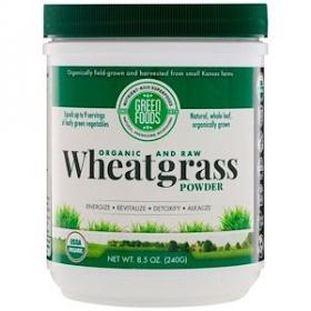 Organic Wheatgrass Powder Expiry 03/21
